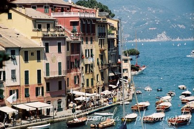Portofino Port by Pamela J. Fall